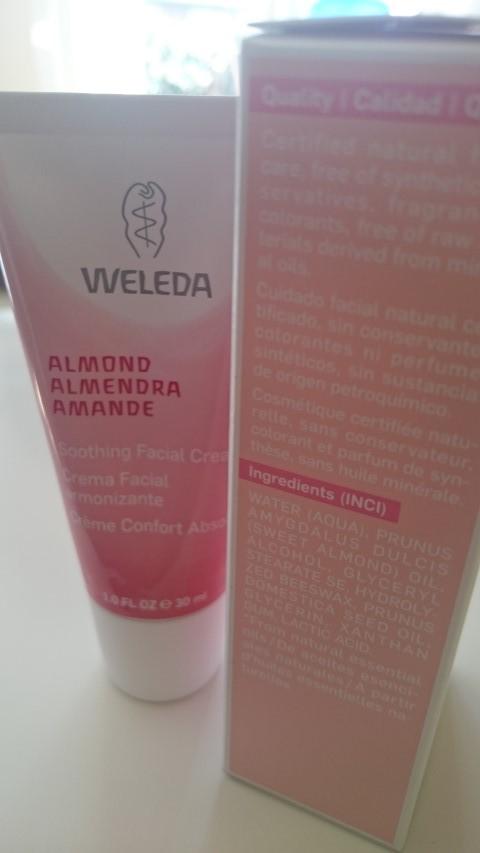 Crema facial piel sensible Weleda