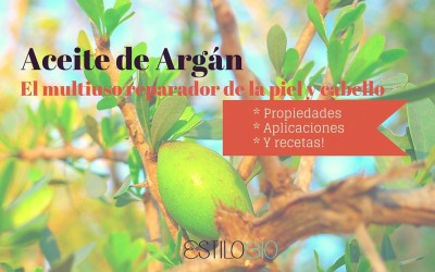 Aceite de argán propiedades y aplicaciones