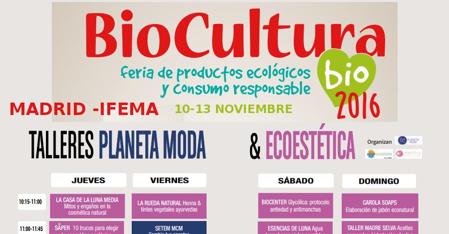 BioCultura Madrid 2016