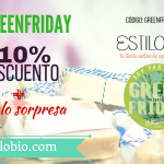 En el Black Friday pásate al verde con el #GREENFRIDAY en EstiloBio