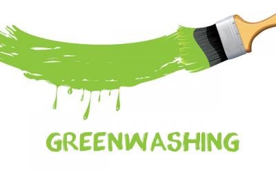 Etiqueta verde y productos naturales